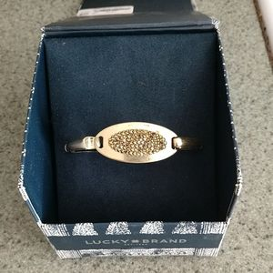 Lucky Brand Gold-Tone Bangle Bracelet
